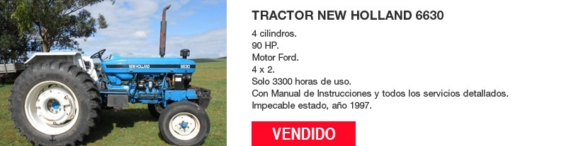 Tractor New Holland 6630